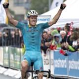 Første etape blev vundet af hollænderen Lars Boom, fra Astana mandskabet.