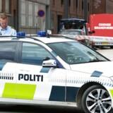 Flere børn sendes torsdag hjem fra Munkebjergskolen i Odense efter en brand på et toilet.