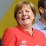 Her er hemmeligheden bag kansler Merkels kartoffelsuppe / AFP PHOTO / PATRIK STOLLARZ