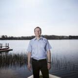 Frank Lorenz er den ene halvdel af ejerne bag det succesfulde jyske firma Tajco, som er på vej til at blive solgt. Her er Frank Lorenz fotograferet ved hjemmet i Silkeborg. Foto: Martin Ballund