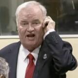 Den international Krigsforbrydertribunal for det tidligere Jugoslavien lukker efter 24 år. Blandt de dømte er 74-årige Ratko Mladic, som af sine fjender var kendt som slagteren fra Bosnien. Reuters/Handout