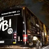 Tirsdag aften blev Dortmunds spillerbus ramt af tre eksplosioner. Ved aftenens omkamp er tysk politi massivt tilstede for at skabe sikkerhed.
