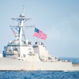 Den amerikanske destroyer USS Stethem sejlede ifølge Kina for tæt på en ø i Det Sydkinesiske Hav. Kina beskylder USA for alvorlige politiske og militære provokationer.