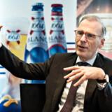 Carlsberg kom i dag den 8. februar 2017 med deres årsregnskab for 2016. Cees 't Hart, der er CEO administrende direktør Carlsberg A/S.. (Foto: Ida Guldbæk Arentsen/Scanpix 2017)