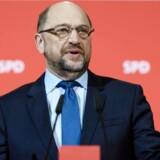 SDU indgår i koalitionsforhandlinger. Men Martin Schulz garanterer ikke, at partiet indgår i en ny regering.