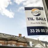 Arkivfoto: Normalt kommer der flere bolig til salg i foråret. Men det er ikke sket i maj, hvilket er overraskende.
