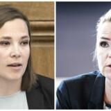 Astrid Krag og Inger Støjberg.