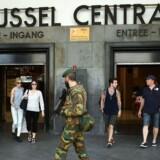 Arkivfoto. Endnu en mand er anholdt i forbindelse med angreb i Bruxelles, hvor selvmordsbombere tog 32 med sig i døden.