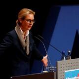 Som spidskandidat for de tyske højreparti AfD er Alice Weidel havnet i problemer efter afsløring af email med »racistisk indhold«. Weidel nægter at være ophavsmand til e-mailen.