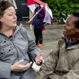 Arkivfoto: Folkemødet 2016 Mette Gjerskov og Martha.