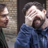 Kristian Leth (tv) og Ralf Christensen - har igen skaffet lytterpenge til deres eget radioprogram.