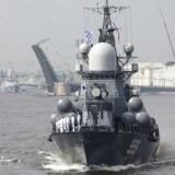 Ruslands flåde afvikler i næste uge tre dages øvelse med fokus på missiløvelser i det sydlige Østersøen, skriver Sveriges Radio.