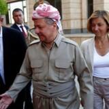 Den kurdiske leder i Irak, Massoud Barzani.