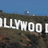 epa05694607 The iconic Hollywood sign is shown after it was fixed after pranksters changed letters for it to read 'Hollyweed' in Hollywood, Los Angeles, California, USA, 01 January 2017. EPA/MIKE NELSON