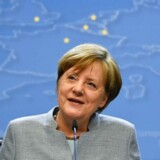 Arkivfoto. Tysklands forbundskansler, Angela Merkel, siger om Macrons sejr, at den er »en sejr for et stærkt, forenet Europa og tysk-fransk venskab.«