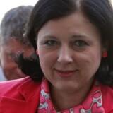 EUs justitskommissær, tjekkiske Vera Jourová, lyttede til Dansk Industris bekymringer for uensartet fortolkning af de kommende stramninger af beskyttelsen af folks personlige data i Europa. Arkivfoto: Laurent Dubrule, EPA/Scanpix