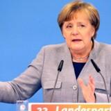 Angela Merkel Merkel har stået i spidsen for Tyskland siden 2005. / AFP PHOTO / dpa / Bernd Wüstneck / Germany OUT