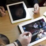 Odder Gymnasium har droppet at bruge Facebook i undervisningen, fordi det var med til at stresse eleverne. (arkiv)