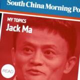Hongkongavisen South China Morning Post står til at blive overtaget af Jack Ma (det lille billede), som er manden bag netgiganten Alibaba. Foto: Tyrone Siu, Reuters/Scanpix