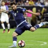 Lionel Messi er igen klar til at spille for Argentina. Scanpix/Kevin Jairaj