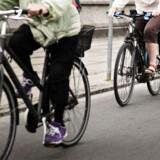 Nye såkaldte Supercykelstier i Region Hovedstaden skal få flere til at hoppe i sadlen i stedet for at sætte sig ind bag rattet i deres bil. (Foto: Mathias Løvgreen Bojesen/Scanpix 2016)