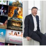 MTGs danske koncernchef, Jørgen Madsen Lindemann (til venstre), og Nordic Entertainment Groups Anders Jensen, som er tidligere TDC-koncerndirektør (til højre), skilles 1. juli, hvor MTG splittes op. Nordic Entertainment Group fortsætter med TV3-kanalerne, Viasat og Viaplay. Foto: Hans Berggren, MTG