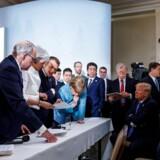 Få timer efter offentliggørelsen af en fælleserklæring fra G7-topmødet i Canada meddeler USA's præsident, Donald Trump, at han alligevel ikke kan støtte indholdet i slutkommunikéet.