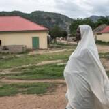 Et nyt studie viser, at størstedelen af den militante gruppe Boko Harams selvmordsbombere er kvinder. / AFP PHOTO / STEFAN HEUNIS