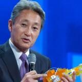 Sonys topchef, Kazuo Hirai, har grund til at være tilfreds, for hans koncern begynder nu endelig at tjene penge trods et midlertidigt smæk. Arkivfoto: Stephanie Keith, Getty Images/AFP/Scanpix