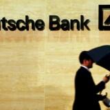 Deutsche Banks toplinje skuffer. Arkivfoto.