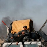 I takt med, at Islamisk Stat er tvunget på flugt flere steder i Syrien og Irak, er der fare for, at gruppen i stedet vil angribe i blandt andet vestlige lande. Her er det irakiske styrker, der rykker nærmere på Mosul, som er Islamisk Stats højborg i Irak. Reuters/Goran Tomasevic