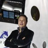 Elon Musks plan er at sende en ubemandet raket til Mars senest i 2020.