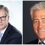 Claus Gregersen (tv.) afløser Tommy Pedersen (th.) som direktør for Chr. Augustinus Fabrikker
