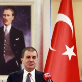 Tyrkiet EU-minister Omer Celik truer med at annulerer flygtningeaftalen med EU / AFP PHOTO / Adem ALTAN