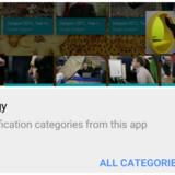 Med billede-i-billede-funktionen (øverst) vil man kunne fortsætte med at se en film (øverst til højre) i en lille rude, mens man f.eks. surfer på nettet efter noget andet. Desuden kan man (nederst) selv slå til og fra, hvilke beskeder man ønsker vist på sin skærm. Fotos: Google