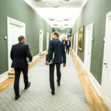 DF-formanden, Kristians Thulesen Dahl, gentager igen-igen-igen sin opfordring om at lande næste års finanslov før en skatteaftale.