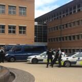 Retten i Glostrup behandler mandag en nævningesag mod en 22-årig mand, der rejste til Syrien for at tilslutte sig Islamisk Stat. Free/Rune Øgendahl, Ritzau/arkiv