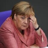 Uaccetabelt og racistisk. Kansler Angela Merkel lægger afstand til AFD-politikers angreb på socialdemokrat med tyrkiske rødder.