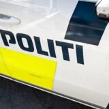 Klokken 09.35 fik politiet en anmeldelse om en brand i Brabrand ved Aarhus.