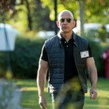 SUN VALLEY, ID - JULY 13: Jeff Bezos, chief executive officer of Amazon.