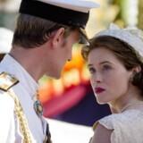 Elizabeth II (Claire Foy) og prins Philip (Matt Smith) i anden sæson af »The Crown«.