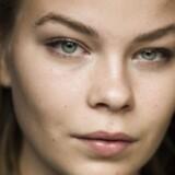 Portræt af skuespilleren Frieda Krøgholt, som er med i den danske dramatisering af TV-serien SKAM.