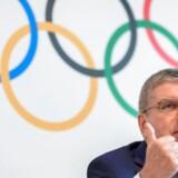 »IOC-bestyrelsen har fredag enstemmigt godkendt anbefalingen om at tildele værtskaberne for de olympiske lege i 2024 og 2028 samtidig,« siger IOC-præsident Thomas Bach.
