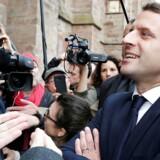 Emmanuel Macron, en outsider i fransk politik. Arkivfoto: Scanpix