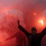 Syv år efter at Det Arabiske Forår kostede præsident Ben Ali magten i Tunesien, er der igen omfattende demonstrationer på grund af arbejdsløshed og stigende priser. Men også den nyvundne politiske frihed er udfordret (Foto: ANIS MILI/Scanpix 2018)
