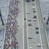 Sjette gang bliver tilsyneladende sidste gang, at motionsløbere får lov at løbe over Storebælt. Det oplyser foreningen bag løbet, der har fået besked om, at transportminister Ole Birk Olesen (LA) har besluttet at forbyde motionsløb over broen. Scanpix/Evan Hemmingsen