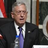 USA's forsvarsminister James Mattis siger, at man arbejder på at finde en diplomatisk løsning i konflikten med Nordkorea.