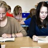 Danske elever topper international undersøgelse for forståelse af demokrati og politik. Arkivfoto fra elever i 8. klasse på Hadsten Skole.