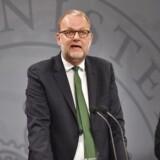 Energi-, forsynings- og klimaminister Lars Christian Lilleholt (V) i Spejlsalen på Christiansborg hvor regeringen præsenterer sit energiudspil 'Energi - til et grønt Danmark'. torsdag den 26. april 2018 . (Foto: Thomas Sjoerup/Ritzau Scanpix)