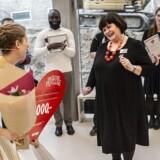 Vinderen af Røde Kors' frivilligpris »fantastiske frivillige« var Inger Kirstensen fra Pandrup, der er formand for idrætsforeningen PGU Pandrup.